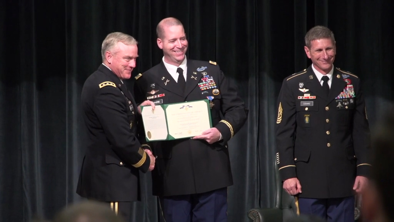Special Operations Soldier Receives Second Distinguished Service Cross
