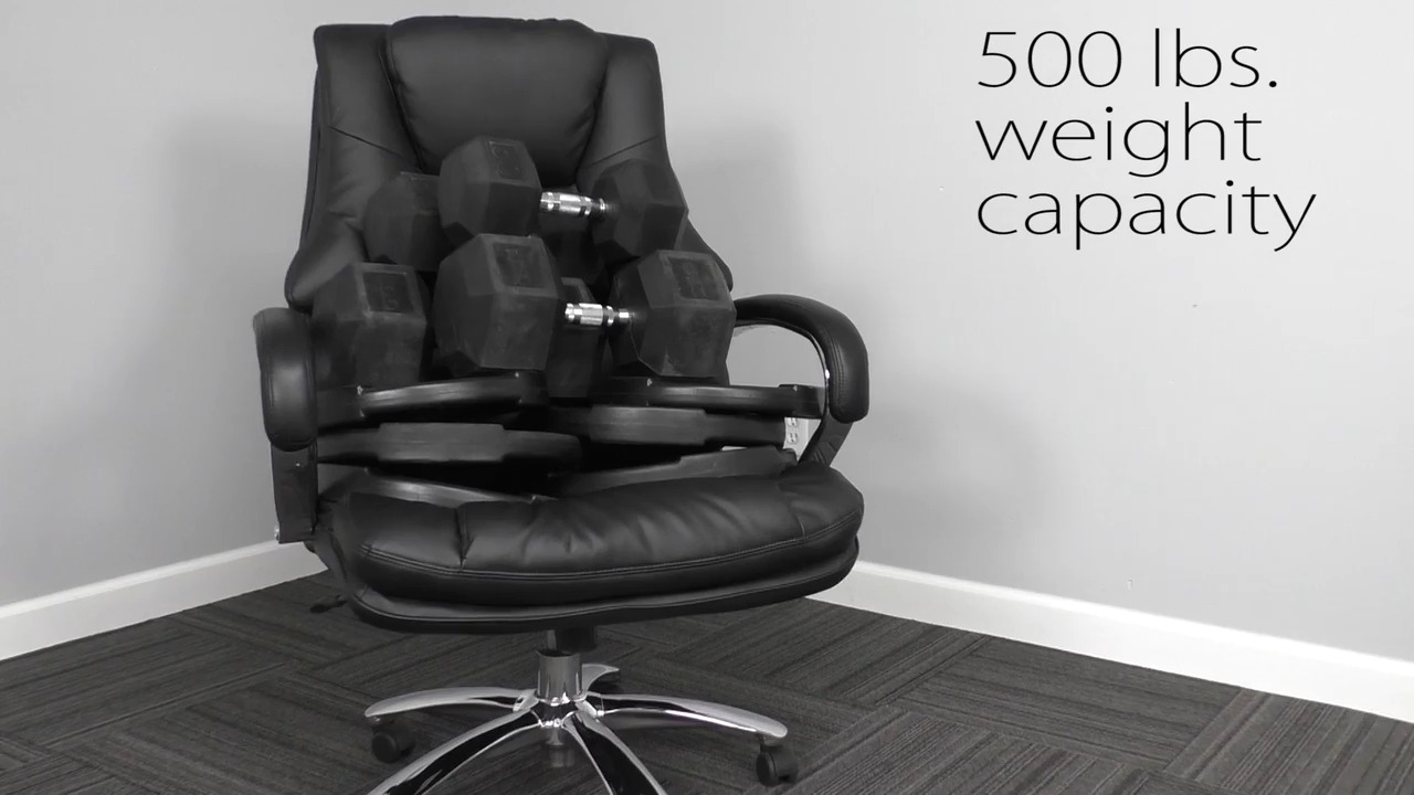 Picture of: Big Tall Extra Wide Office Chair 28 W Holds 500 Lb