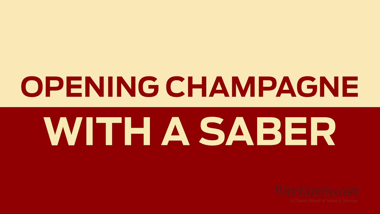 Josh Shows Us How to Saber a Champagne Bottle with Ease
