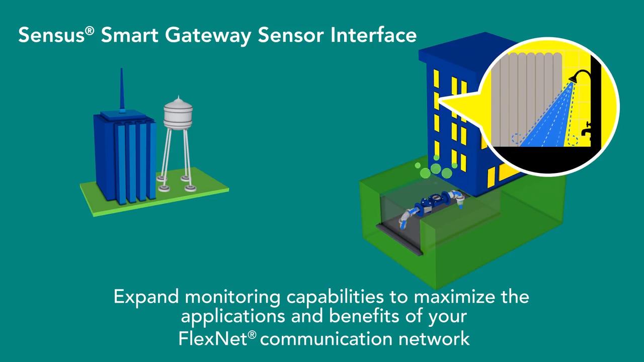 Sensor Interface For Efficient Smart Utility Communications Smartboard Wiring Diagram