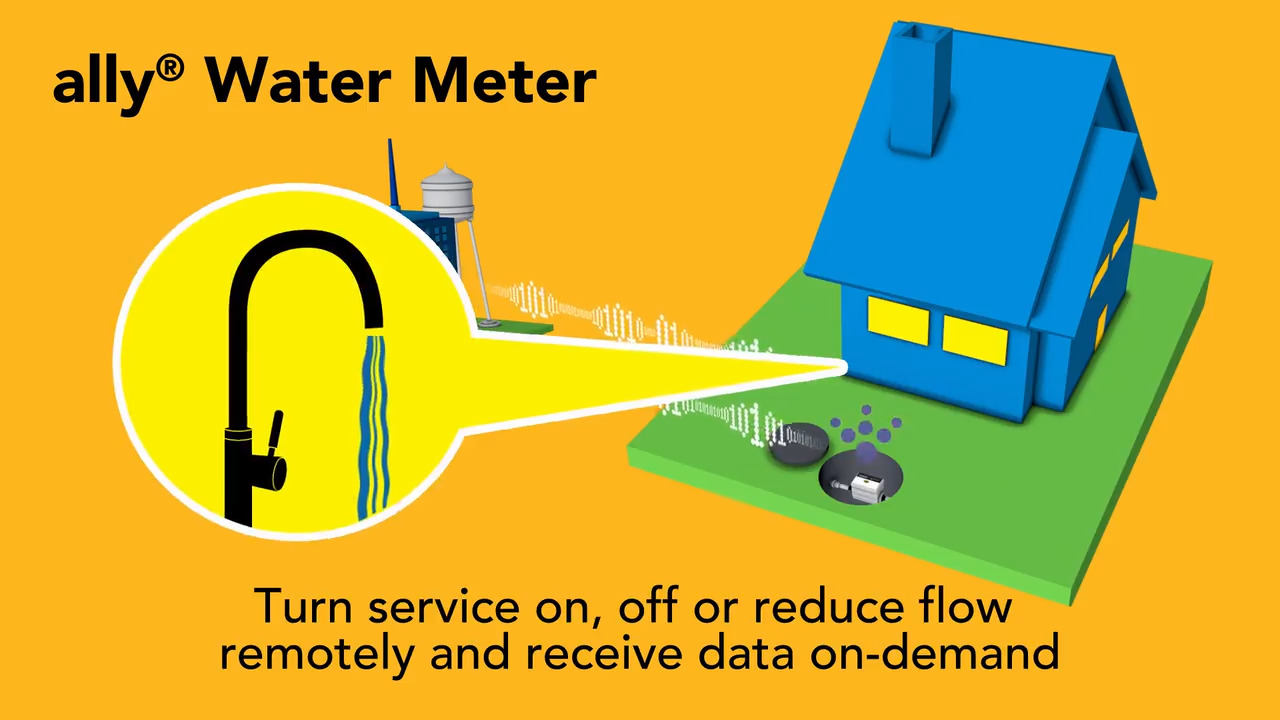 ally® Water Meters | Residential Smart Water Meter | Sensus