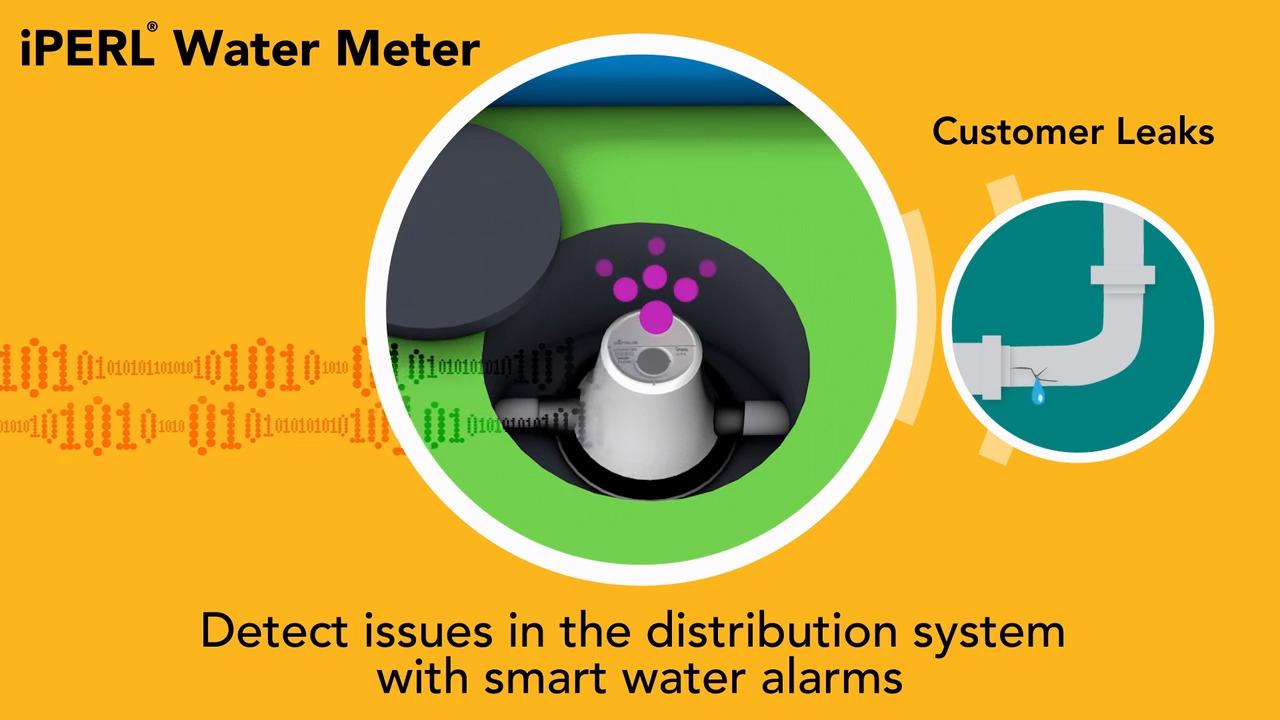 Iperl Water Meter Smart Sensus Products Diagram