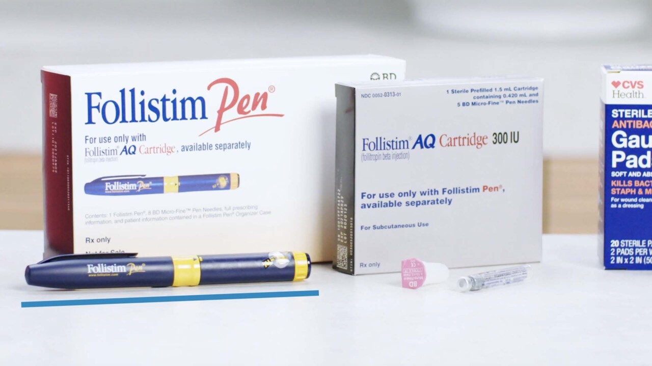Encompass Fertility Injection Training 20 - Follistim AQ Cartridge - Subcutaneous Injection