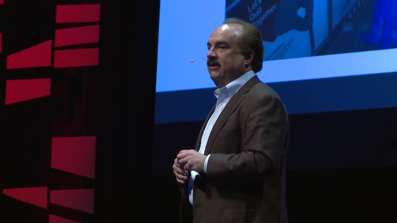 The Good and The Growth in Quitting - Larry Merlo - TEDxWakeForestU