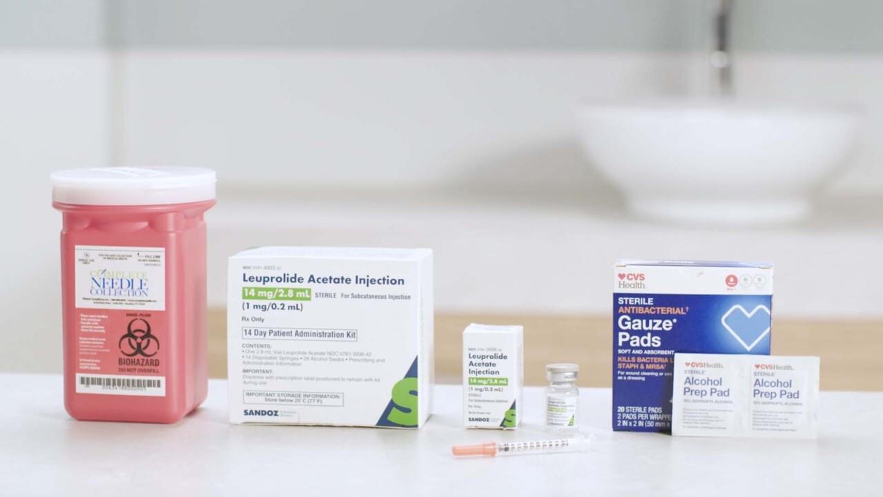 Encompass Fertility Injection Training 09 - Lupron 14-Day Kit (Leuprolide Acetate) - Subcutaneous Injection