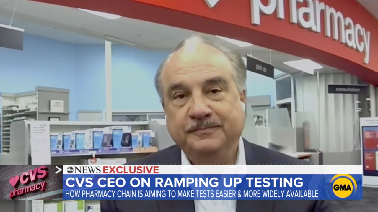 CVS Health CEO Larry Merlo on Good Morning America