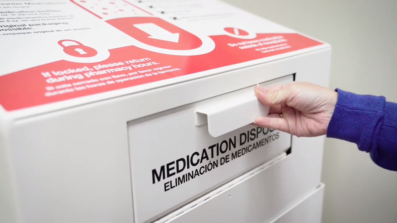CVS Health — Media gallery — Medication disposal B-roll