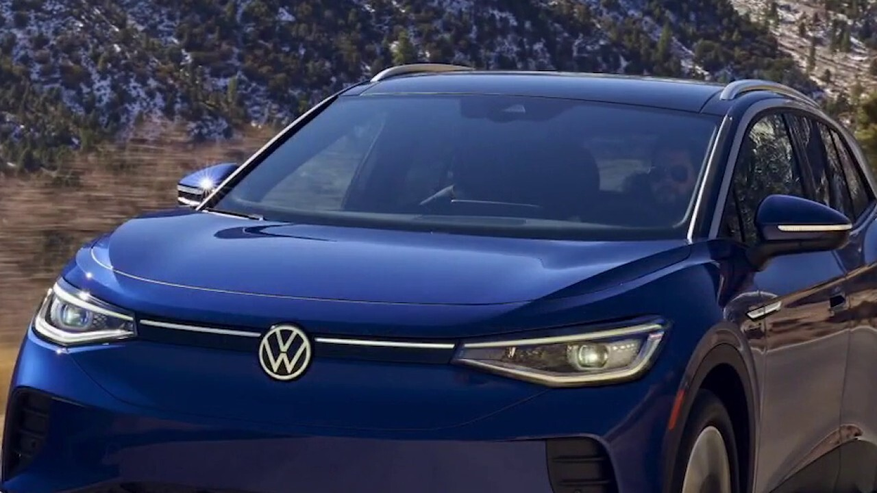 Volkswagen of America President and CEO Scott Keogh explains how the new SUV compares to Tesla products in price and performance.