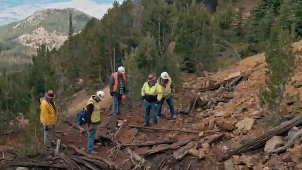 Fox Business features the Dale Brothers' quest for gold in Bear Gulch, Mont.