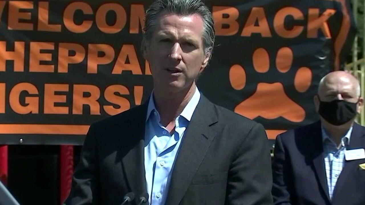 Gavin Newsom calls for full reopening of California schools by Fall