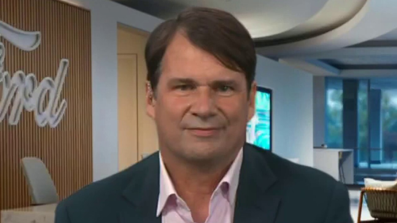 Ford Motor Company CEO Jim Farley discusses the future integration of Ford's electric vehicles.