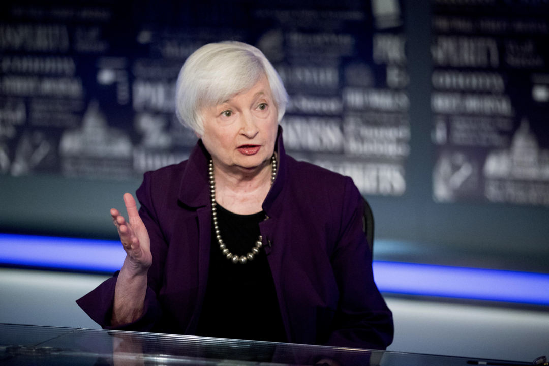 Danielle DiMartino Booth of Quill Intelligence, First Trust Advisors chief economist Brian Wesbury and CFRA chief investment strategist Sam Stovall provide insight into the markets and Janet Yellen's confirmation as Treasury secretary.