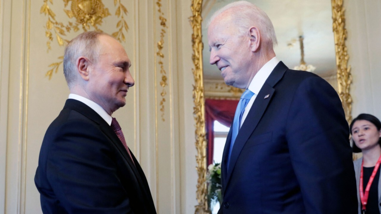 As Russian President Putin arrives in Geneva, President Biden is under increasing pressure to take a strong stance during their meeting. Gen. Jack Keane with more.