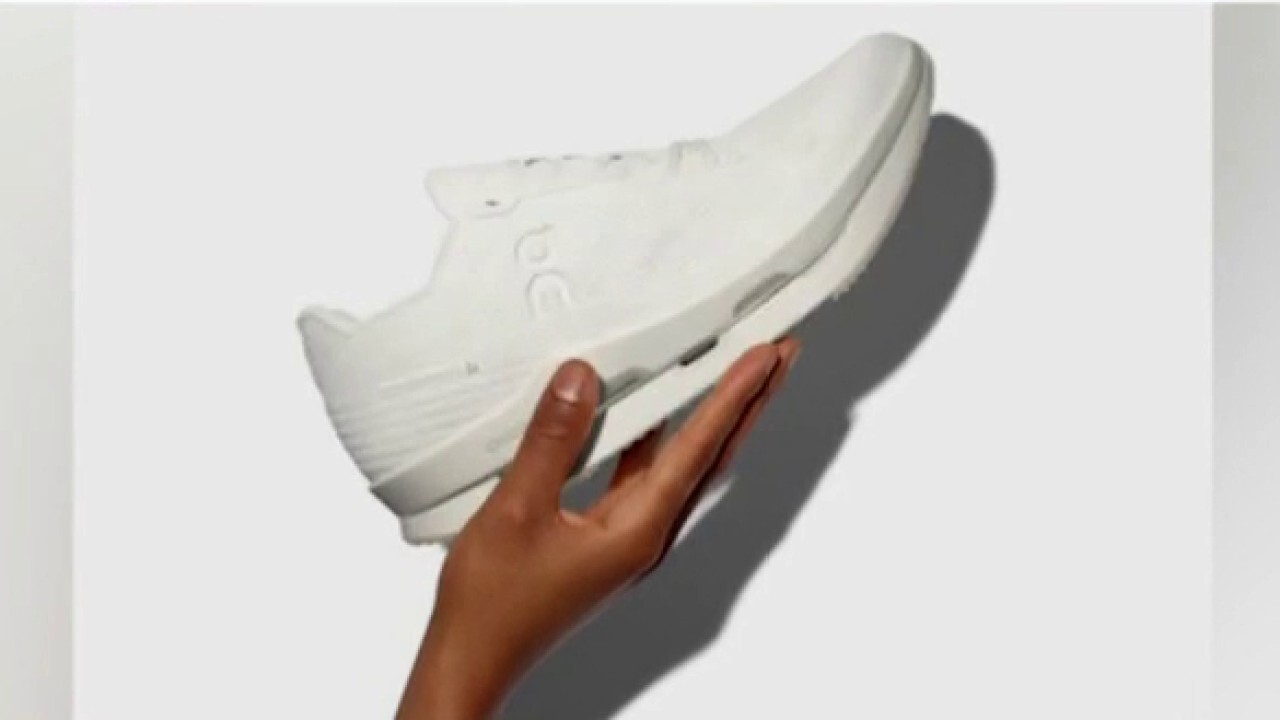 Martin Hoffmann and David Allemann provide insight on the innovation and design of their athletic shoe on 'The Claman Countdown'