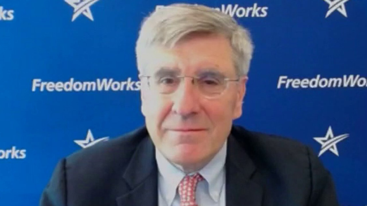 Economist Stephen Moore says the whole office structure will be 'different' as a result of COVID-19, arguing that the extent to which changes will be permanent will have 'huge implications for commercial real estate, especially in major cities.'