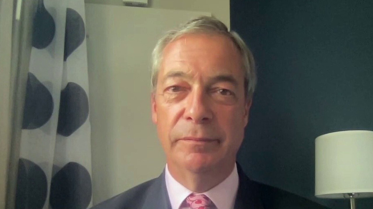 Farage: The Labour Party 'completely out of touch' in backing Biden's proposal