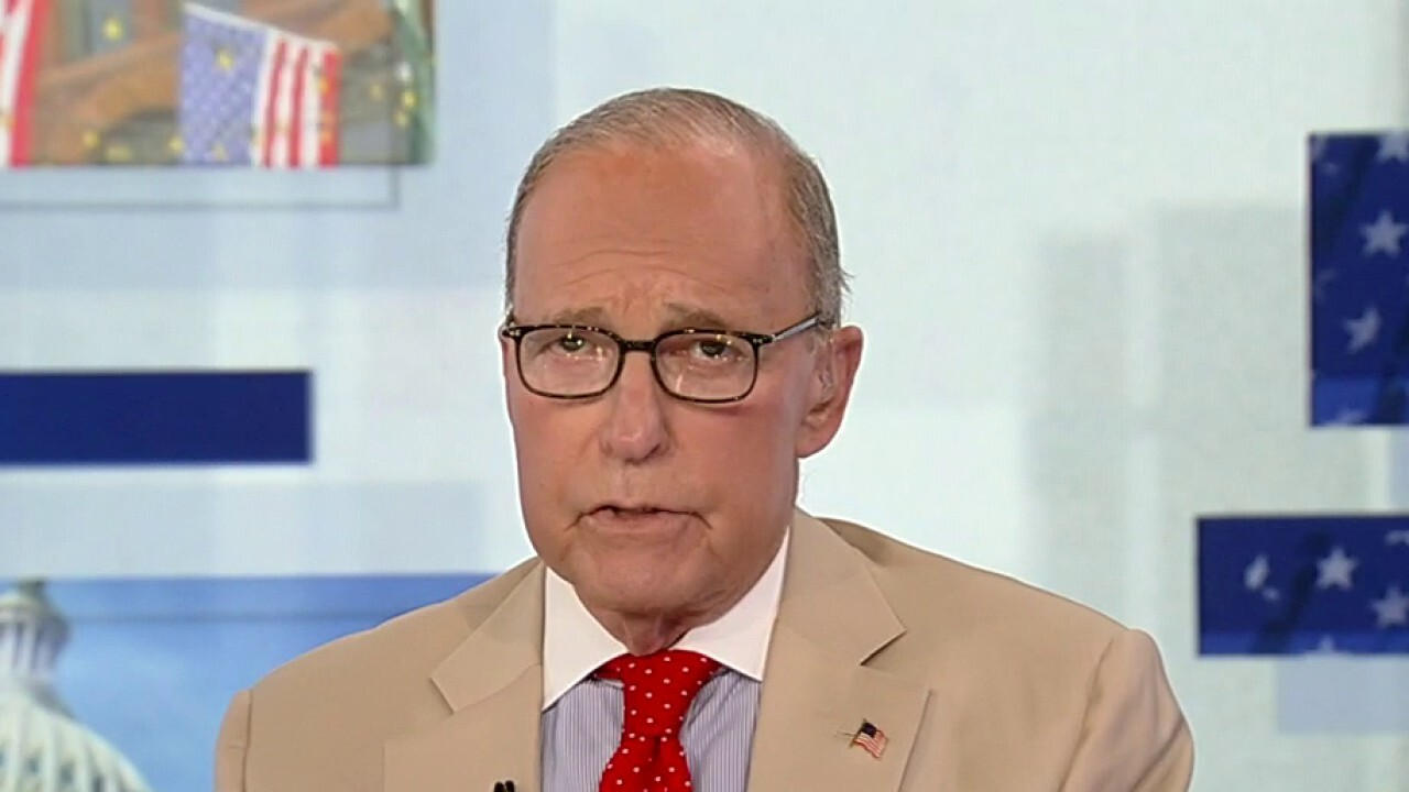 Kudlow weighs in on critical race theory