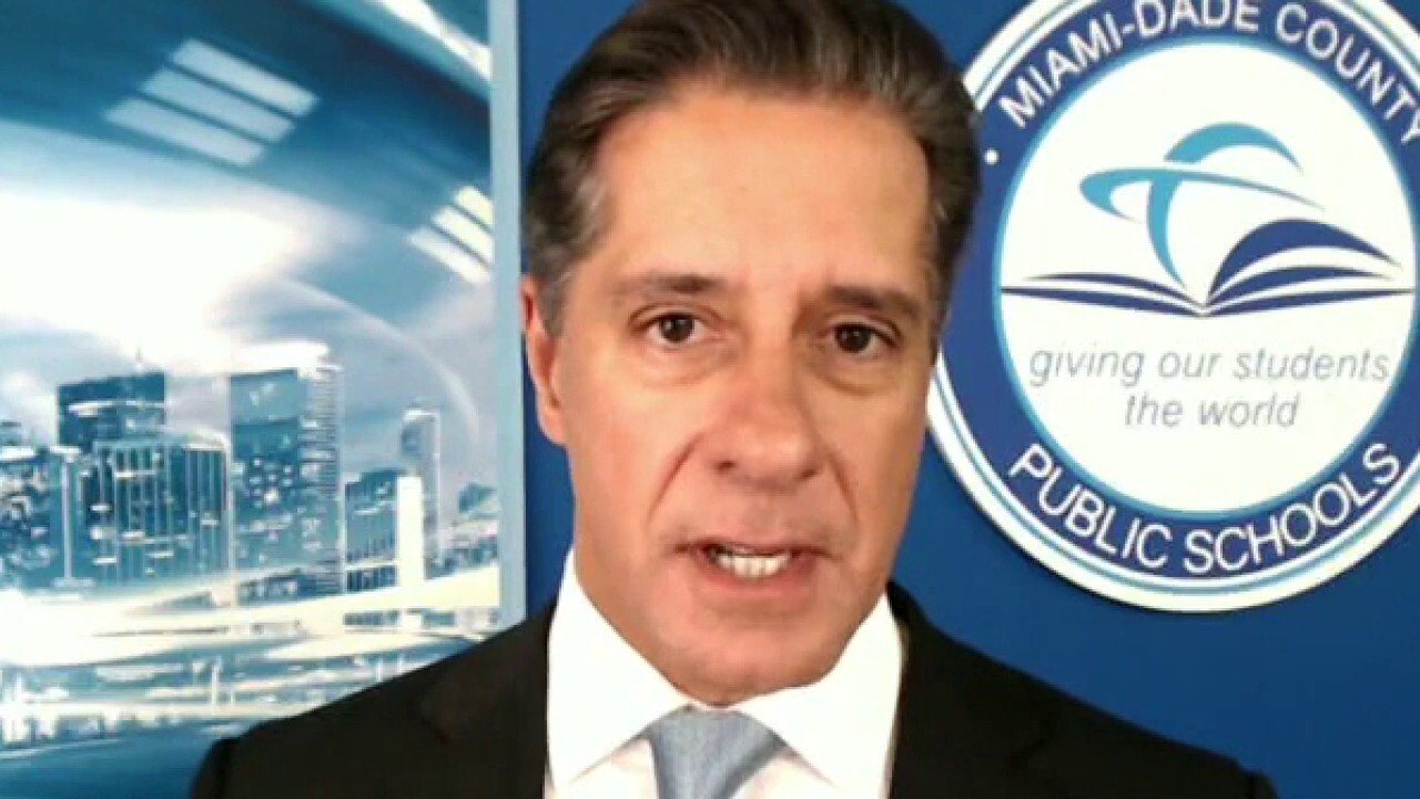 Miami schools superintendent on Gov. DeSantis threat to slash funding over mask rules