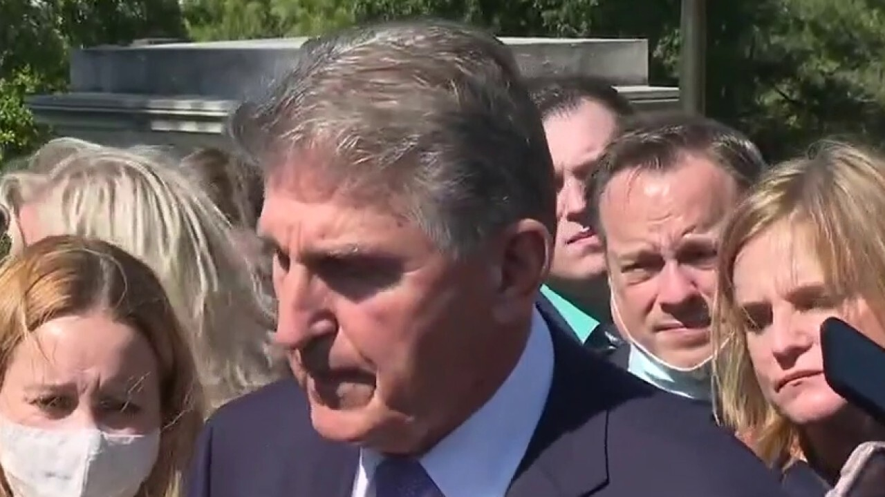 Sen. Joe Manchin, D-W.Va., argues he's been 'very upfront and very fair' with Democrats over the proposed spending package.