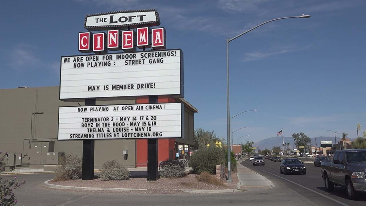 Movie theaters are slowly reopening a year after COVID-19 shutdowns