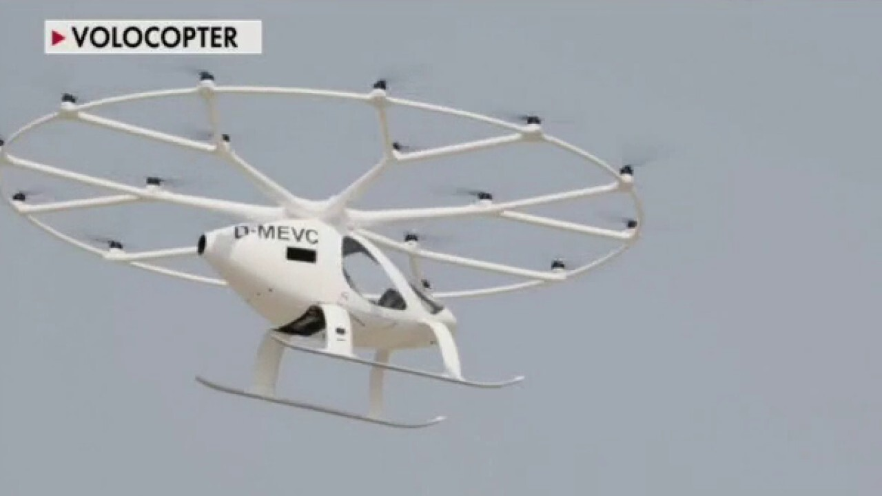 'Flying taxi' Volocoptor completes first public test, says CEO