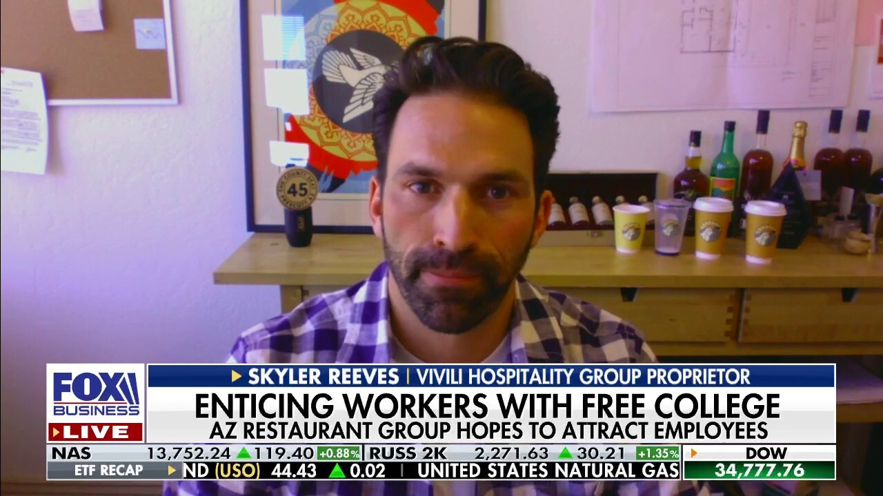 Restaurant owner offering free college to future employees