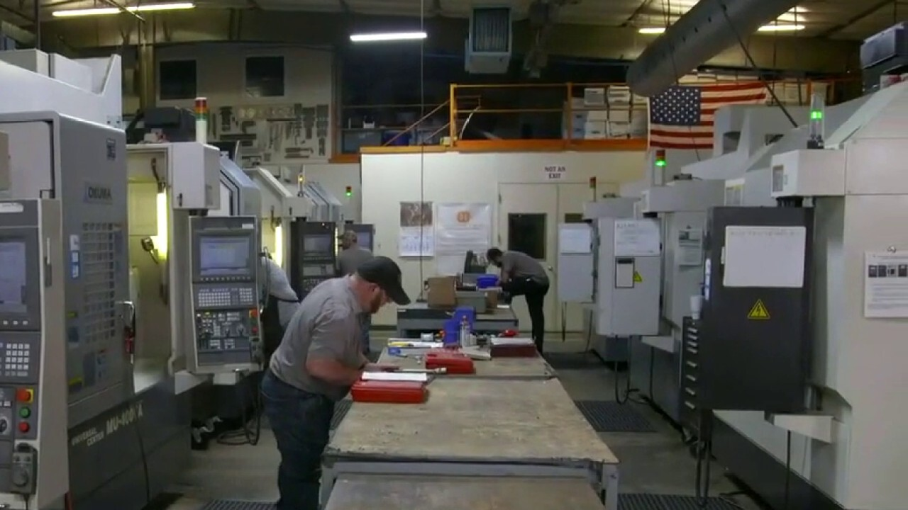 FOX Business' Grady Trimble speaks with Homeyer Precision Manufacturing president Tim Wetzel on the state of the industry.