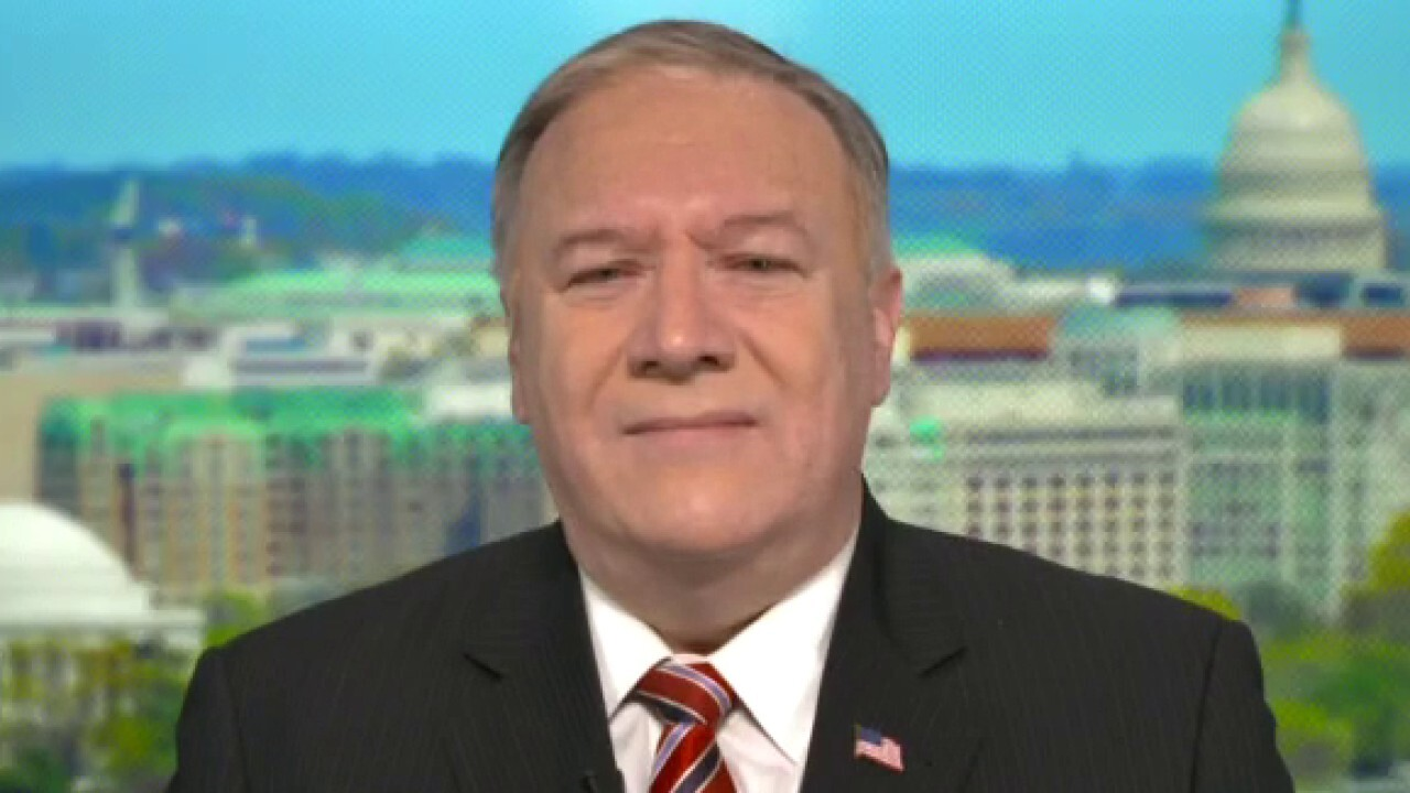 Pompeo: 'No evidence' Biden admin is prepared to confront China threat