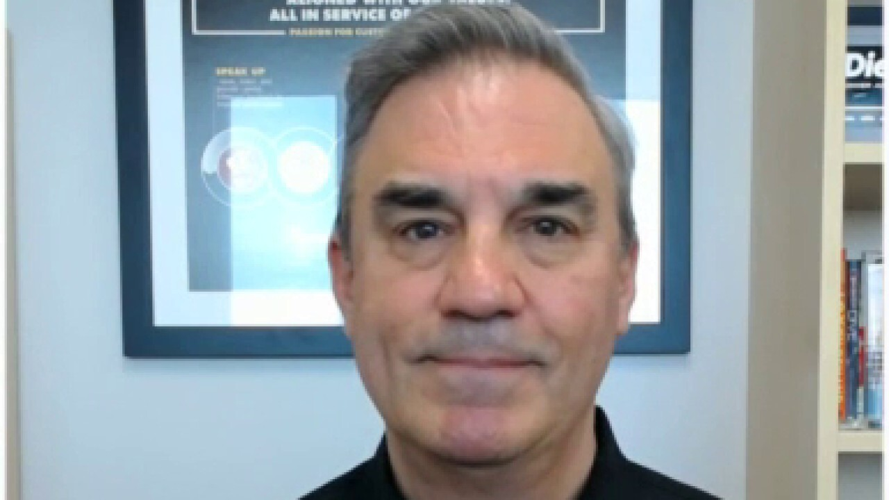 Advance Auto Parts CEO and President Tom Greco says the global chip shortage 'is going to elongate the time' that people get a new vehicle and will lead to more used car sales and an 'aging fleet,' which is 'very good' for his business.