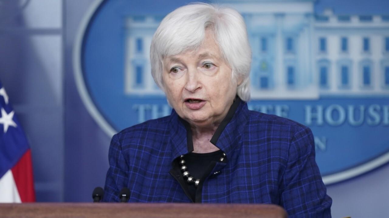 Yellen: Unemployment compensation isn't major factor in low jobs report