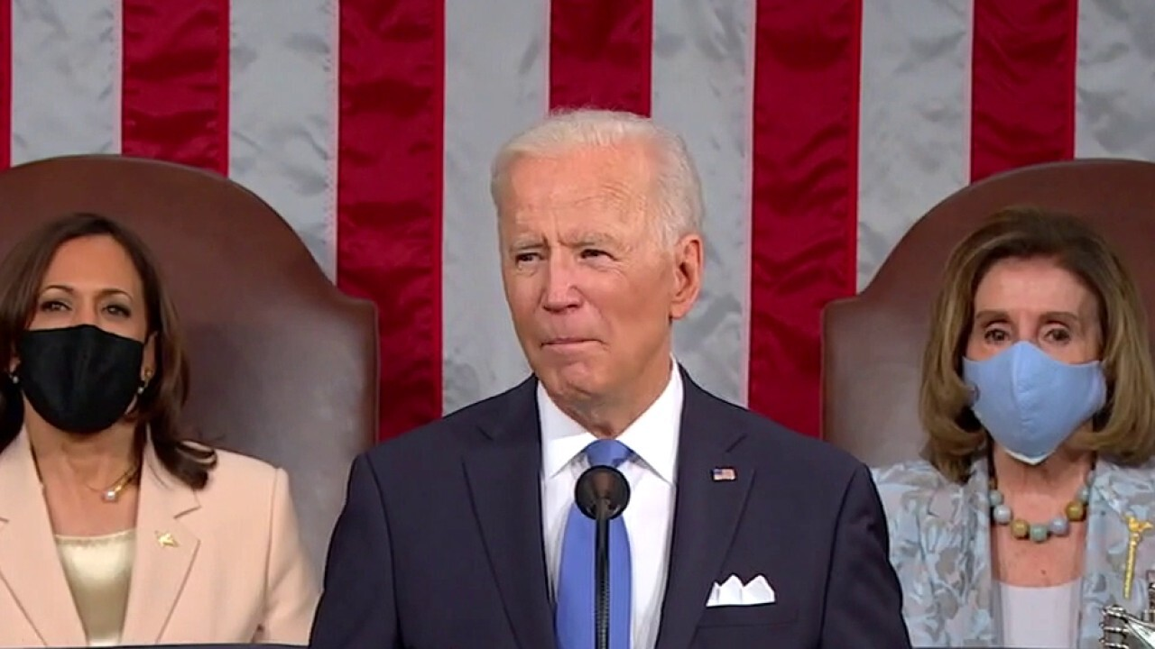 Biden touts economic recovery amid criticism over his tax, spending plans