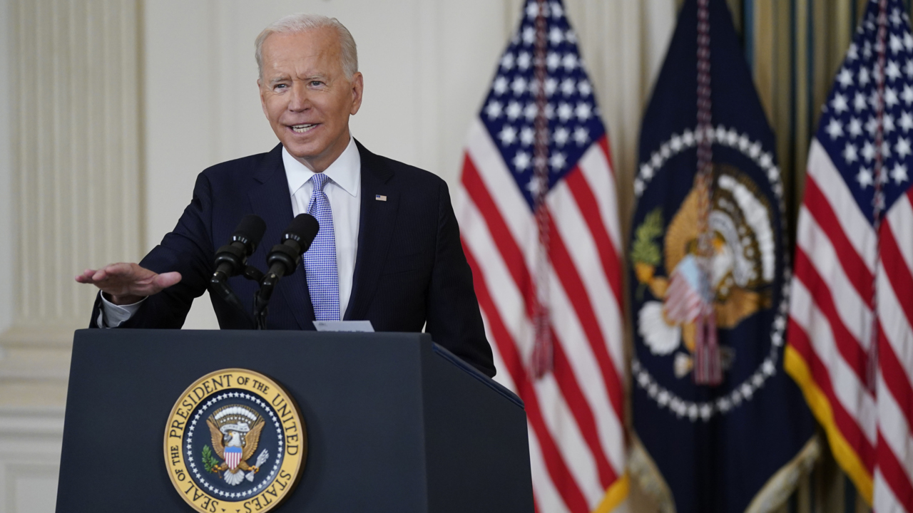 President Biden delivers remarks on the September jobs report