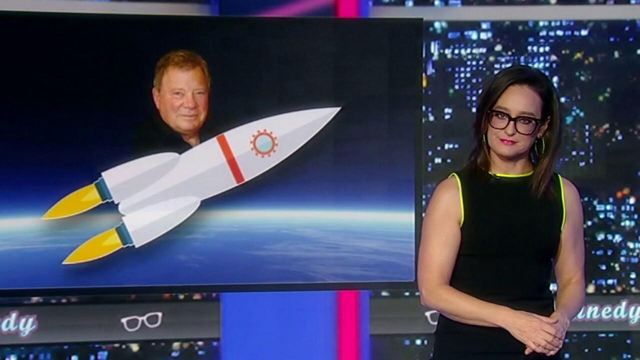 Kennedy reacts to William Shatner's Blue Origin space flight