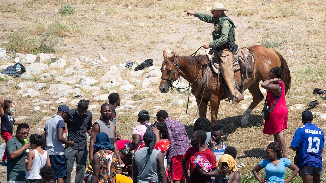 Biden makes false claims about border patrol agents on horses