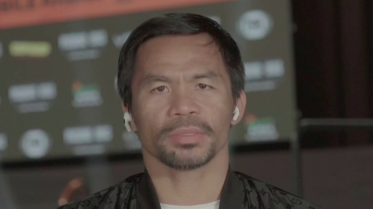 Manny Pacquiao talks cryptocurrencies, Philippines president, retirement