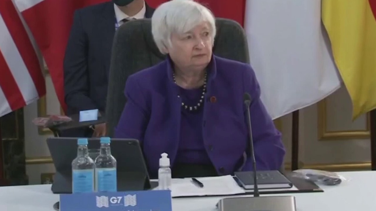 Secretary Yellen led push for deal on global minimum tax