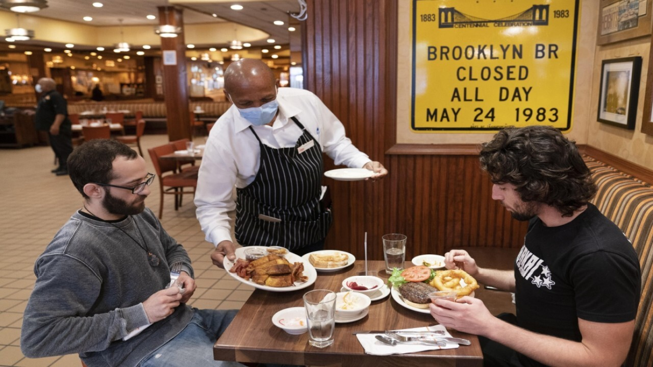 Melba's Restaurant owner and NYC Hospitality Alliance president Melba Wilson on Gov. Cuomo allowing NYC restaurants to return to indoor dining with 25% capacity.