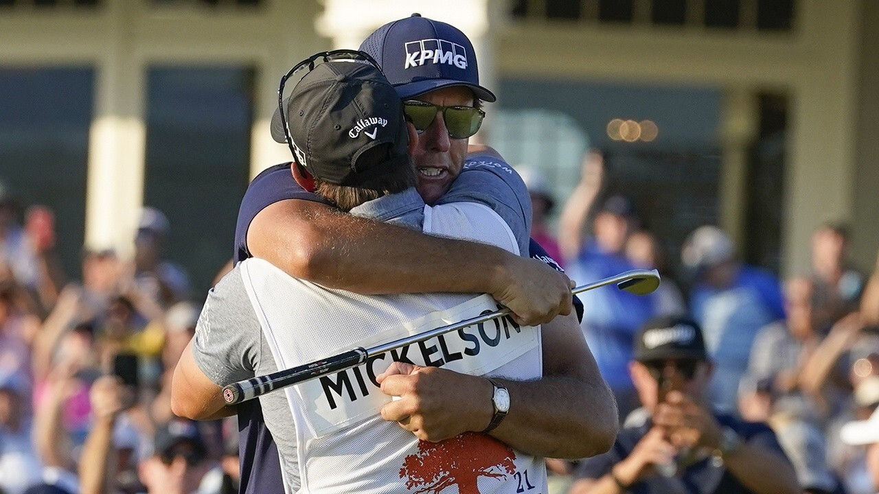 Phil Mickelson becomes oldest golfer to win major