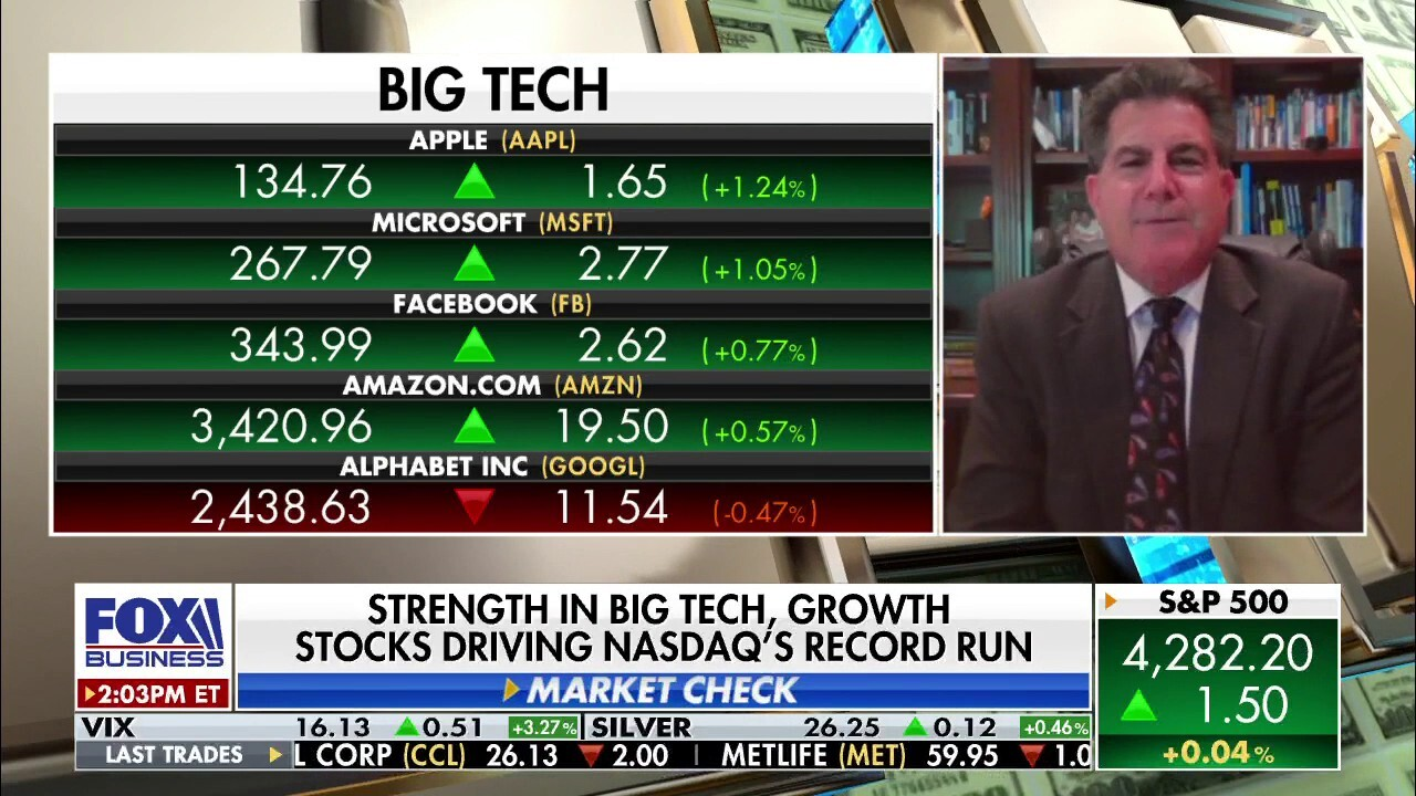 Big Tech stock growth has Gary Kaltbaum 'worried about the economy'
