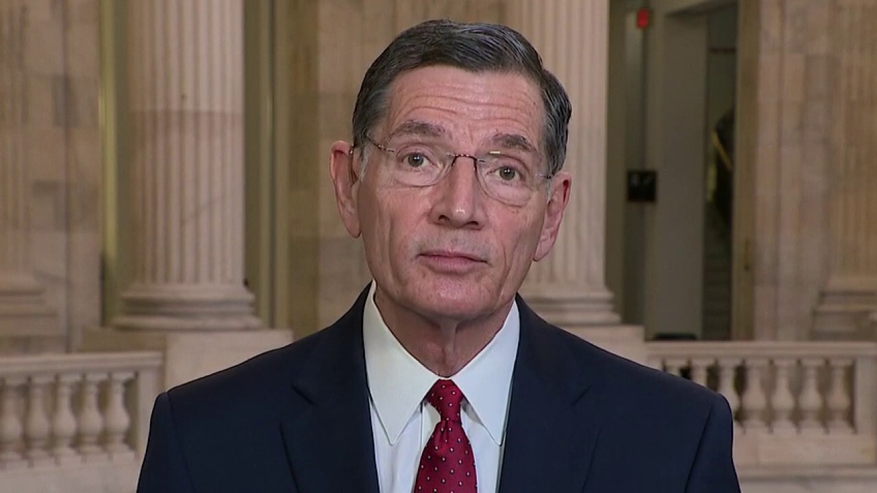 Sen. John Barrasso, R-Wyo., argues that the president is killing jobs across the country with his 'far-left radical approach' to energy and discusses former President Trump's impeachment trial and the COVID-19 vaccine distribution.