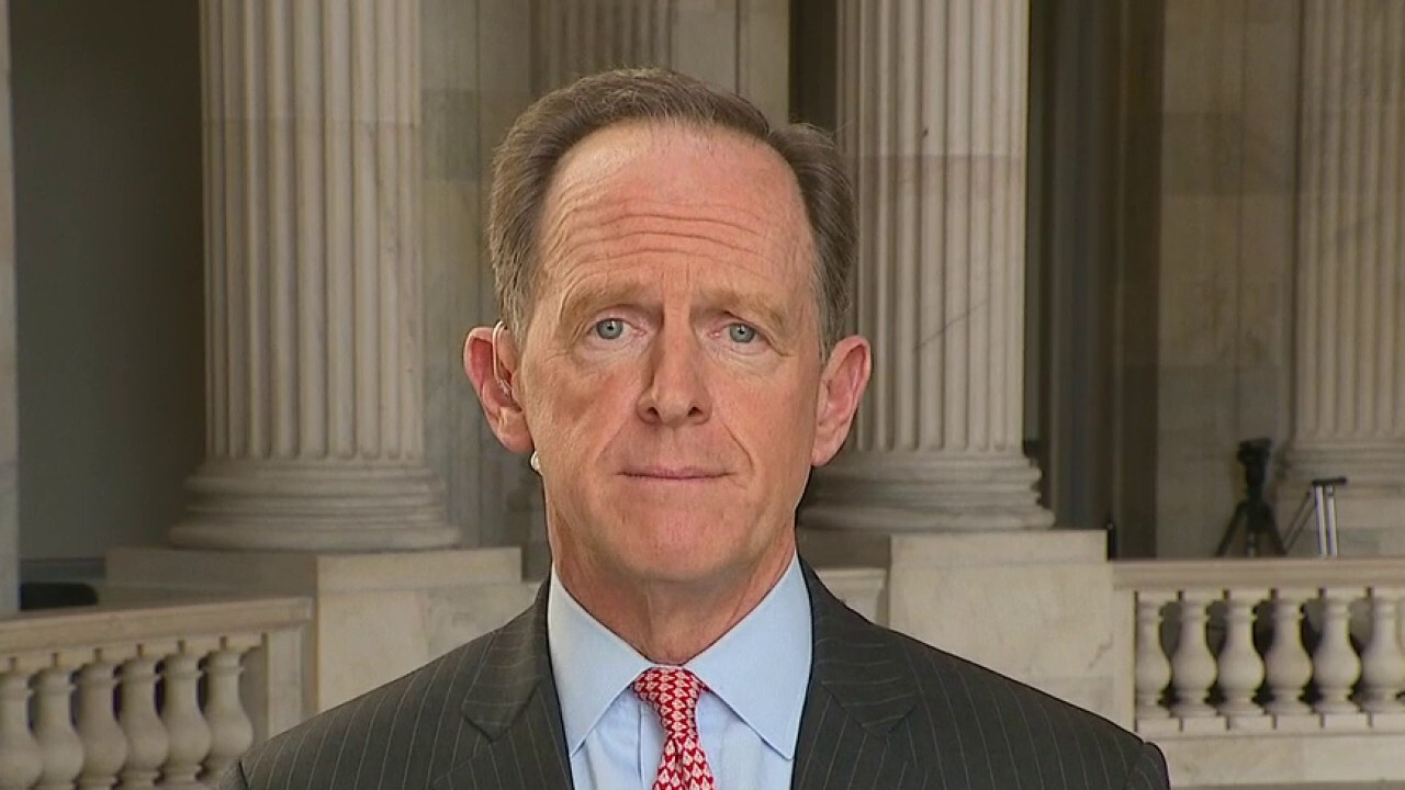 Sen. Toomey: Stimulus bill 'isn't about COVID,' it's about expanding the welfare state
