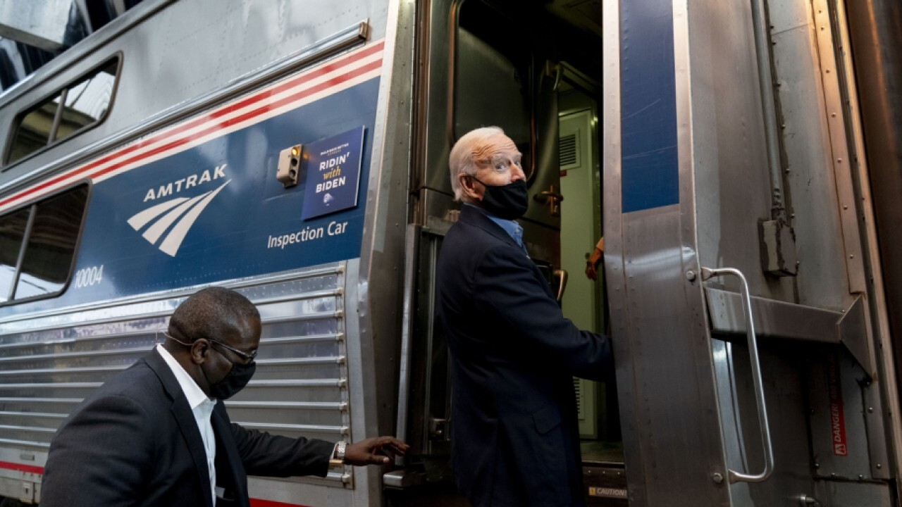 The president expected to promote spending billions of dollars on Amtrak; Fox News correspondent Bryan Llenas with more