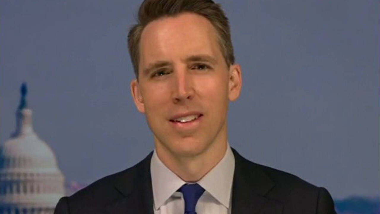 Hawley: Break up Big Tech to achieve competition, innovation, liberty