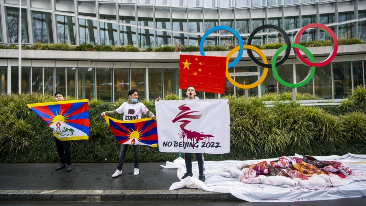 Gianno Caldwell says US should boycott China Olympics