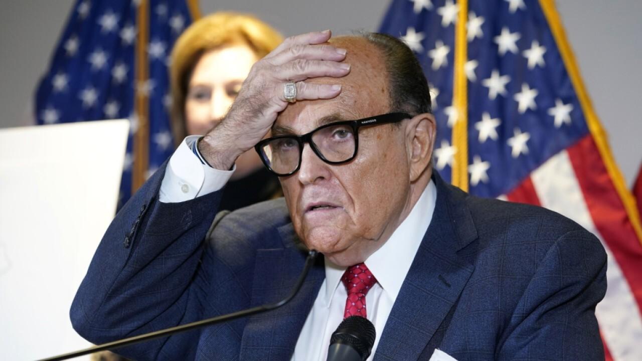 Feds raid Rudy Giuliani's apartment as part of Ukraine probe: Report