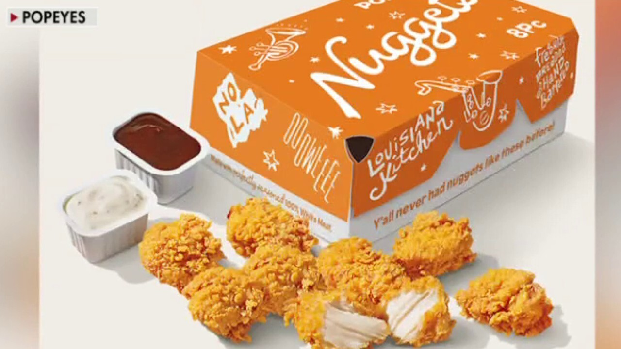 Sami Siddiqui, president of Popeyes Louisiana Kitchen for the Americas, explains that the creation of the company's chicken nugget is not in response to inflation, which he argues is 'temporary in the environment.'