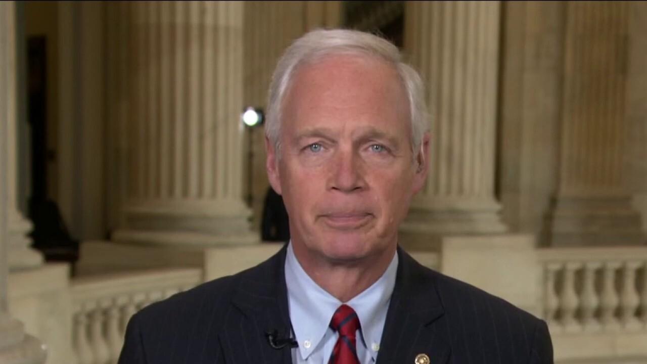 Johnson: Dems spending bill failure shows 'dysfunction' of Senate leadership