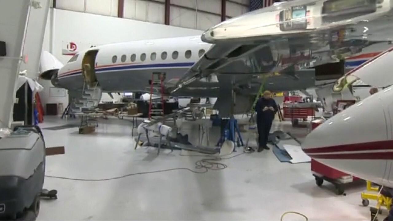 Private planes take flight amid travel slump