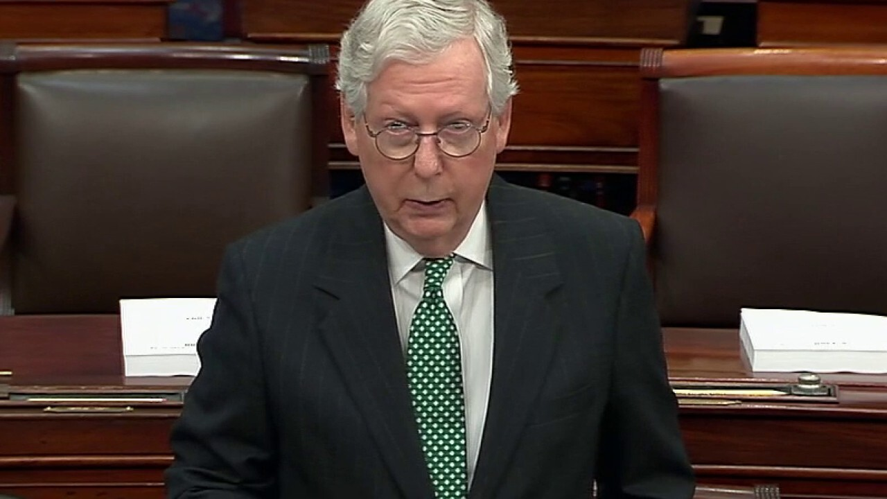 Mitch McConnell accuses Biden of playing shell game to hide border crisis