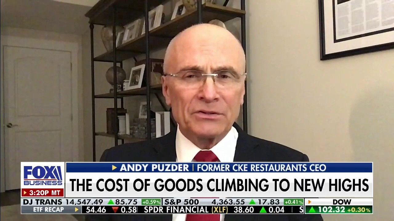 Beyond inflation, Andy Puzder outlined multiple reasons retail prices will go up in the United States.
